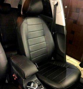 Audi Q3 салон из экокожи