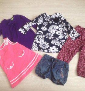 Одежда для девочки 1,5-2 года