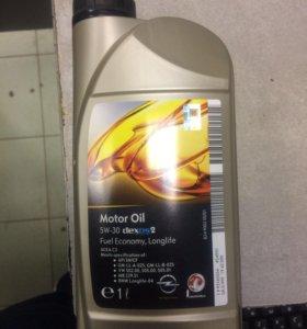 Масло GM 5w30 синтетика