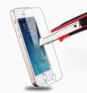 Защитное стекло для iPhone 4s-5-5c-5s-se-6-6s-7-7s