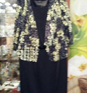Платье с кружевным верхом.Очень красиво сидит по ф