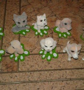 Маленькие движущейся собачки
