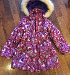 Пальто зимнее tokka