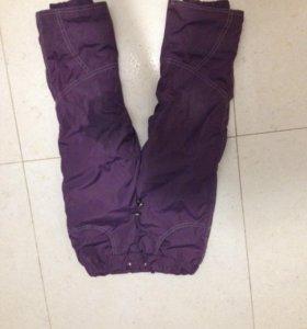 Тёплые брюки на  подкладе
