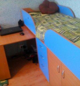 Кровать чердак Карлсон мини