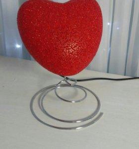 Светильник 'Сердце'