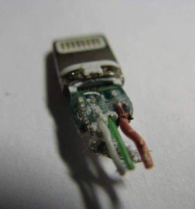 Ремонт кабеля apple lightning