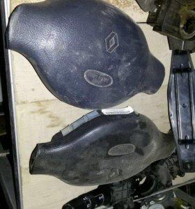 Подушка в руль Рено Логан Клио симбол