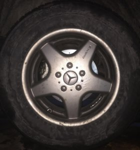 Комплект зимних колёс Mercedes G