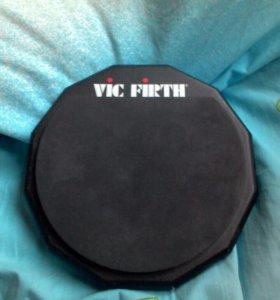 Пэд двухсторонний тренировочный vic firth
