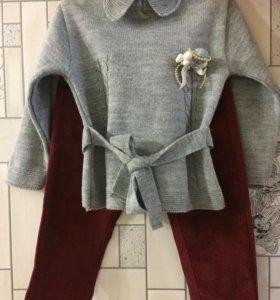 Новое, Детская коФточка и брюки вельвет
