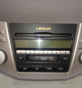 Магнитола штатная Lexus rx-350