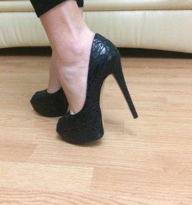 Кожанные туфли Mascotte