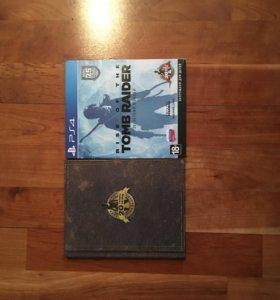 TOMB RAIDER PS4 картинки в подарок.