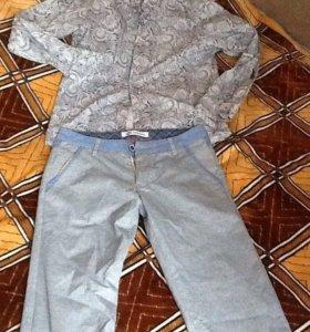Готовый образ на выпускной ( рубашка, брюки)ботинк
