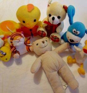 Пакет мягких игрушек