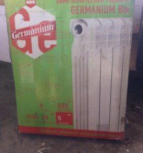 Биметаллический радиатор Germanium BM neo 500/6