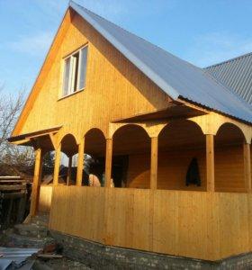 Строительство домов и дач.