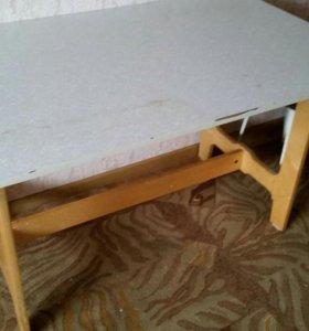 Обеденный стол 110×70см