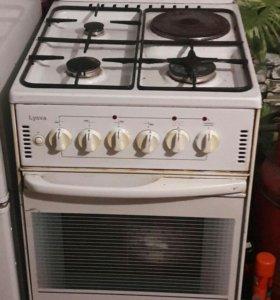 Газо-электро плита с духовым шкафом