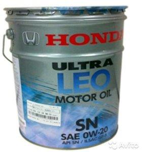 Моторное масло Honda Ultra Leo SN 0w20, розлив 1л.