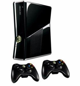 Xbox 360. 2 геймпада+ много игр