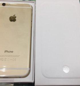 iPhone 6 16gb Gold (Золотой) Новый, оригинал