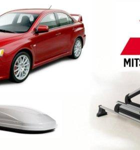 Авто багажник на крышу для Mitsubishi (митсубиси)
