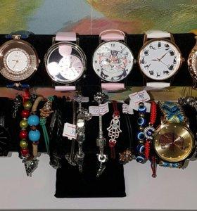 Наручные часы женские,браслетики🌺