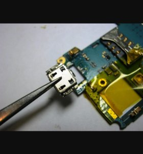 Замена гнезда зарядки любых телефонов