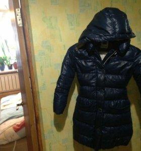 Пальто зимнее пуховое для девочки