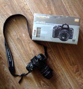Зеркальный цифровой фотоаппарат Olympus E-450.