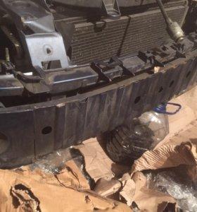 Усилитель переднего бампера форд фокус 2