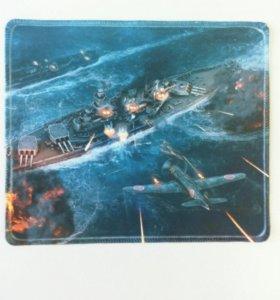 """Коврик для мыши, """"World of Warships"""""""