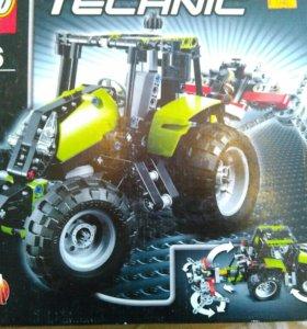 Lego technic 9393. Трактор