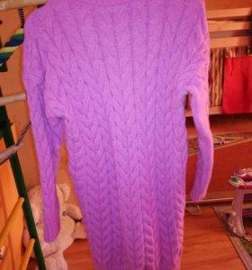 Вязаное платье новое