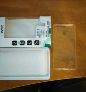 Чехол бампер на Huawei P9 новый