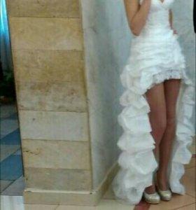 Свадебное платье 2в1