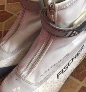 Лыжные ботинки Fischer RC3 combi MY style