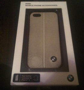 Продам чехол кожа   iPhone 5,5s Bmw
