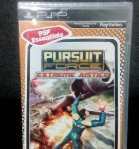 Pursuit force extreme justice на PSP
