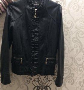 Кожаная куртка,новая