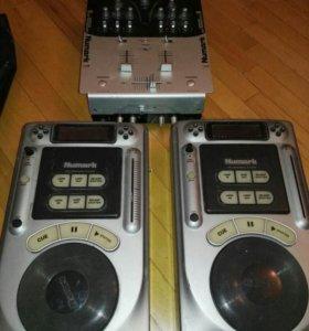 Установка DJ
