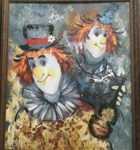 Картина клоуны
