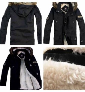 Мужская зимняя куртка victorinox