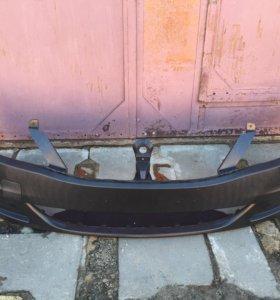 Бампер передний рено логан 2