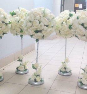 Свадебный декор прокат