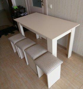 Обеденные столы из ЛДСП