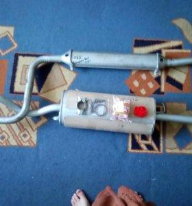 Глушитель на ВАЗ 2110
