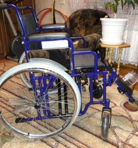 Инвалидная коляска для крупных людей новая